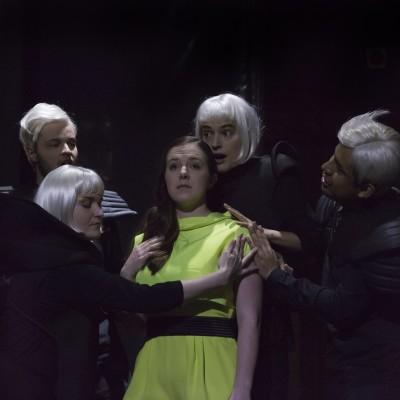 Romeo und Julia | Boris Blacher | Theater Basel | Markus Nykänen, Bryony Dwyer, Meike Hartmann, José Coca Loza |Foto: Serafina Oppliger | 2016